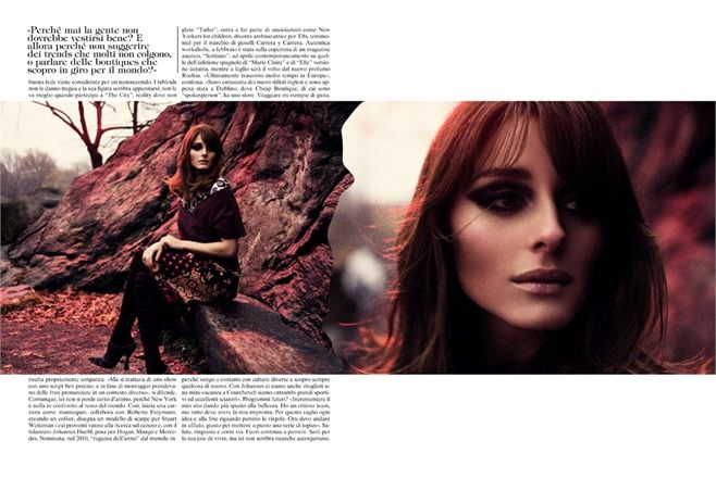 Olivia Palermo - Vogue.it