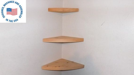 3 Piece Floating Rounded Corner Shelves By Bawoodworking