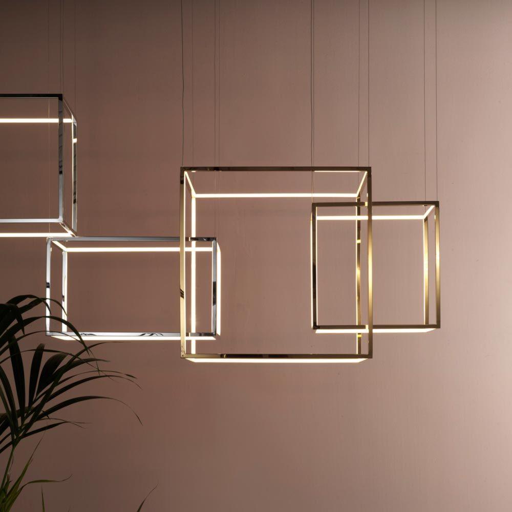 Cube Pendant Light Cl 32990 3 Pendant Light Chrome Finish Light