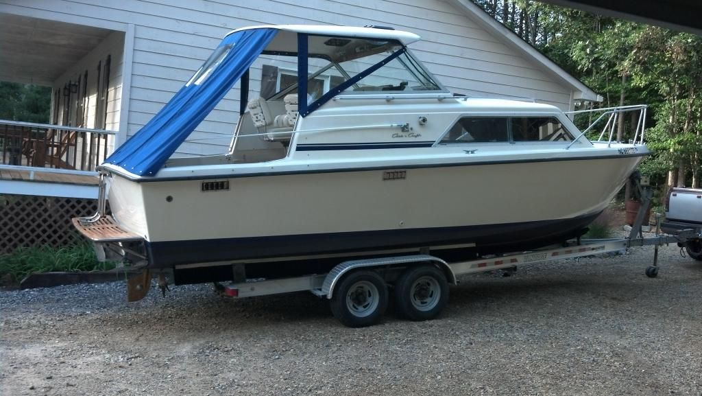Trailer 251 Catalina Chris Craft Power Boats Yacht