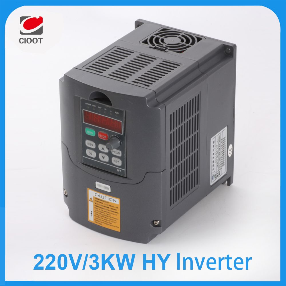 Single Phase Variable Frequency Drive Vfd Circuit Diagram High Power 3kw 220v Inverter Ac For 30kw Spindle 3000w