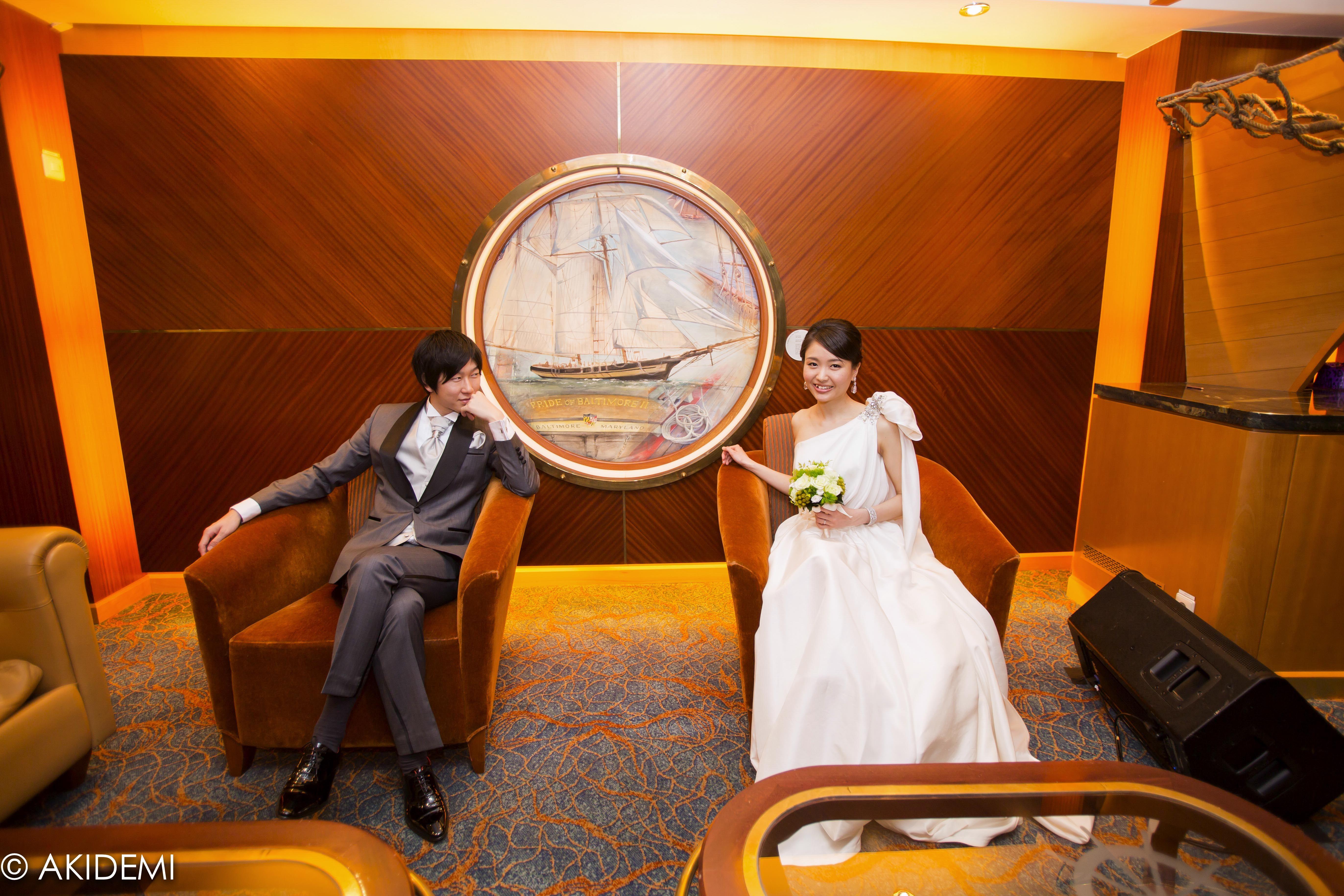 Wedding photo_Royal Caribbean Cruise Allure Of The Sea