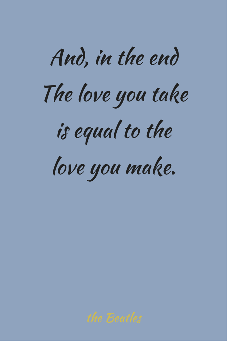 Beatles Quotes Love Famous Love Quotes Full Of Meaning  Paul Mccartney Thoughts And