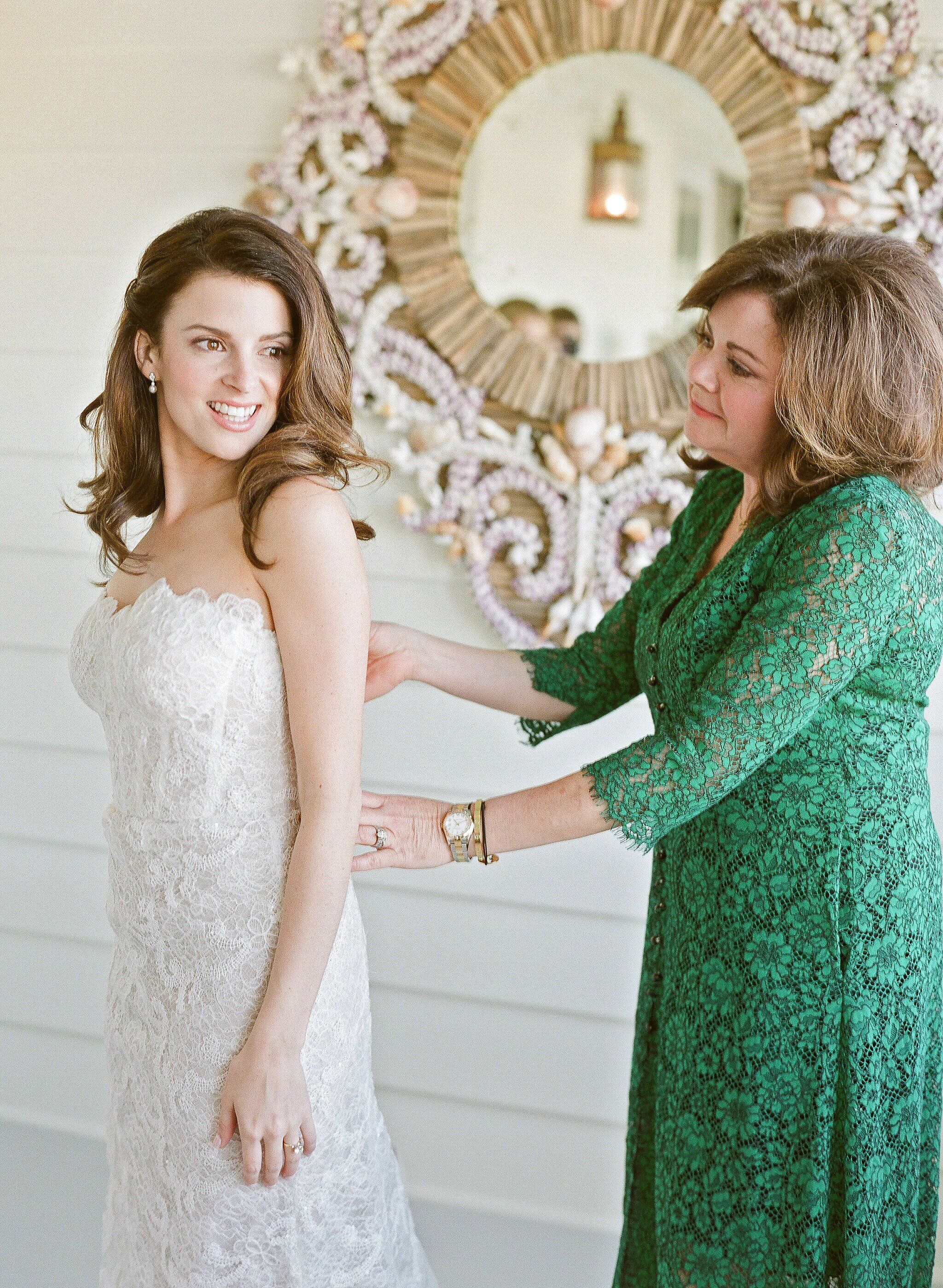 This Mom & Her Daughters Rewore Their Wedding Dresses