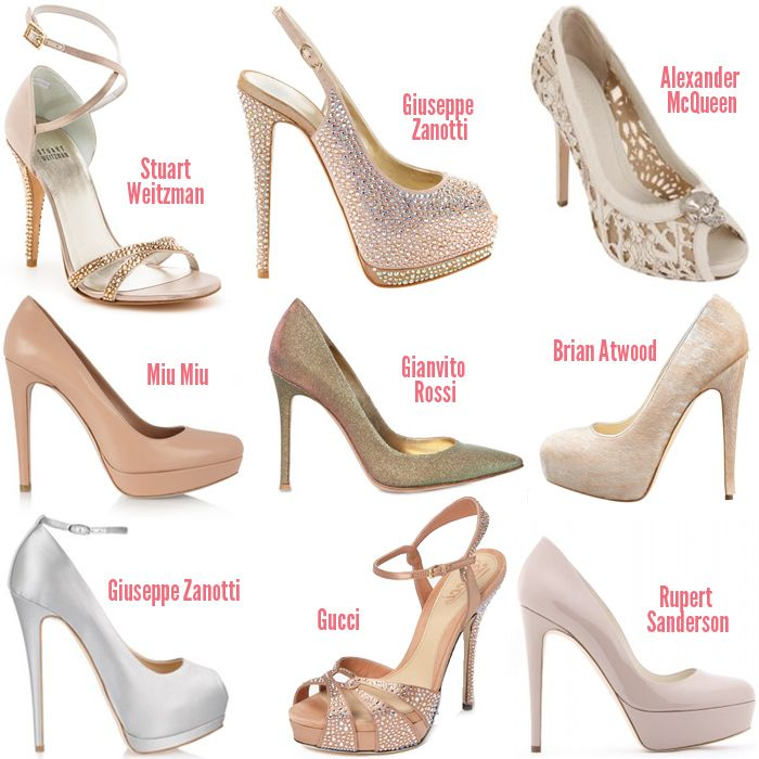 Designer Wedding Shoes To Get You Inspired For The Big Day Fancy
