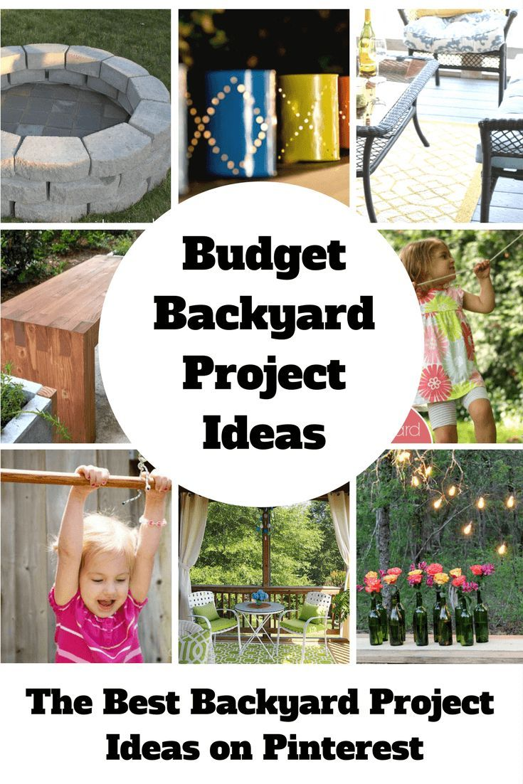 One Stop Solutions In Budget: Budget Backyard Project Ideas