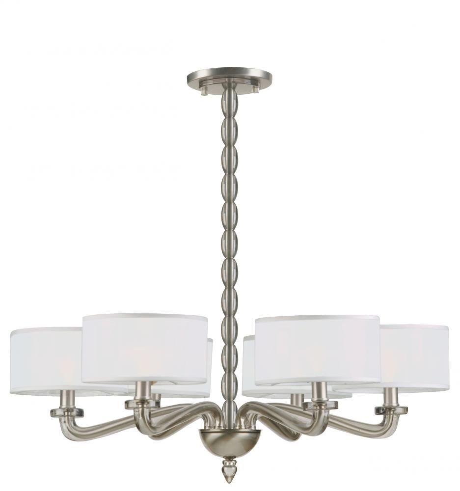 Living lighting on king in toronto ontario canada 23f7w chandeliers luxo collection satin nickel shade silk