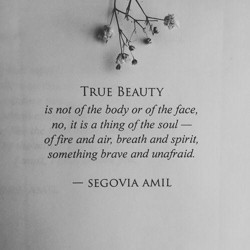 "serious:  ""true beauty  """