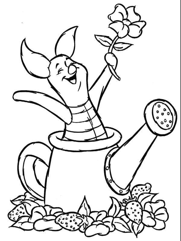 coloring books - Disney Baby Piglet Coloring Pages