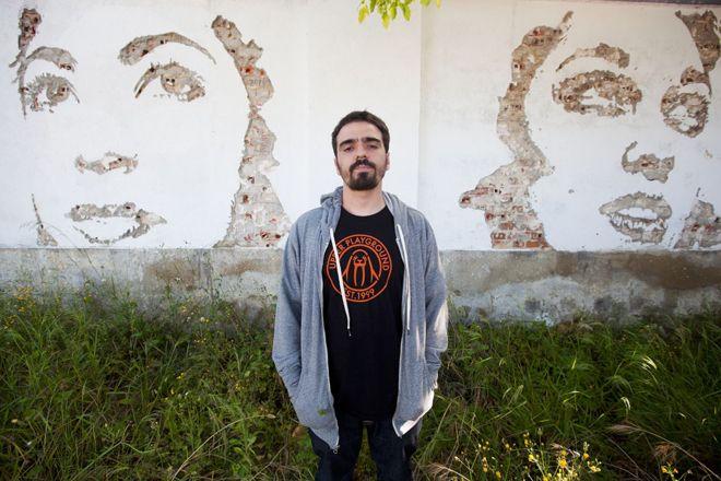 Vhils – artista português do grafite é a personalidade que mais se destacou no exterior - Blue Bus