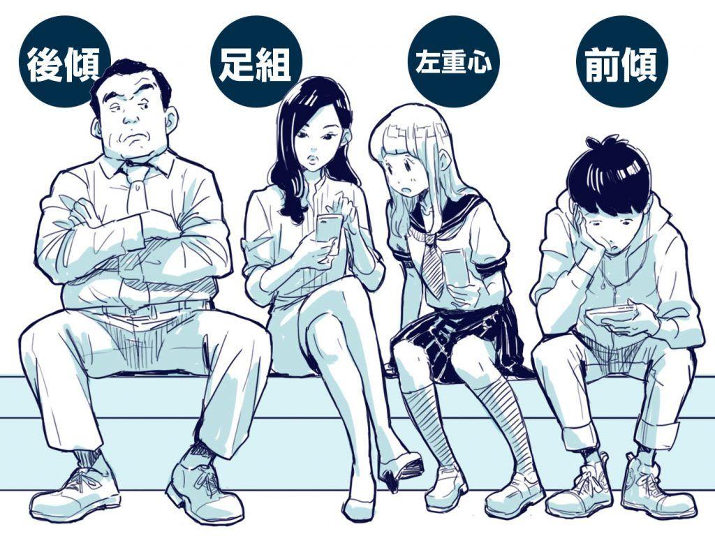 イラスト豆知識自然な座り方 ビジネスアニメ Illustration In 2019