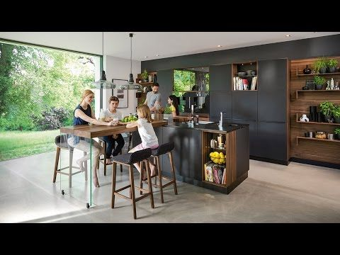 TEAM 7 Küche black line - Kühle Eleganz trifft natürliche - küchen team 7