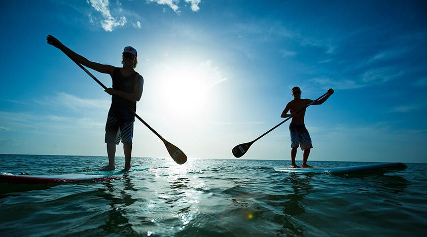 Stand Up Paddle Boarding Is Now Available In Geneva On The