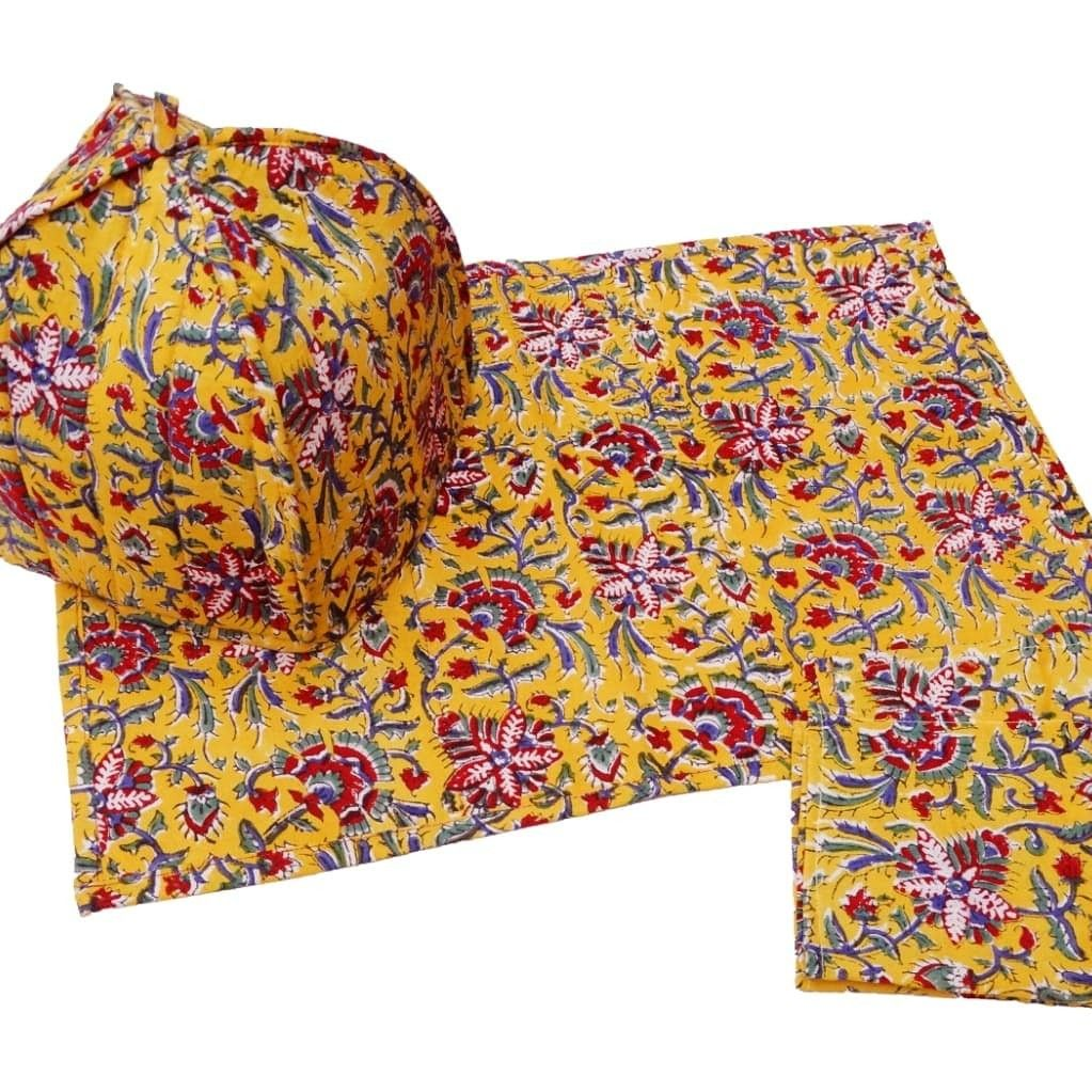 Just made Cotton printed T cozy ( kettle cover) sets