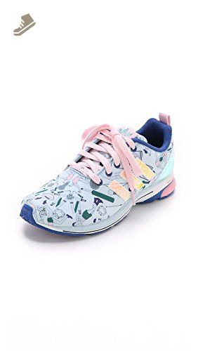 the best attitude 2a1a4 09c8f adidas Originals by Mary Katrantzou Womens MK ZX Flux Tech Jogger  Sneakers, Multi, 10