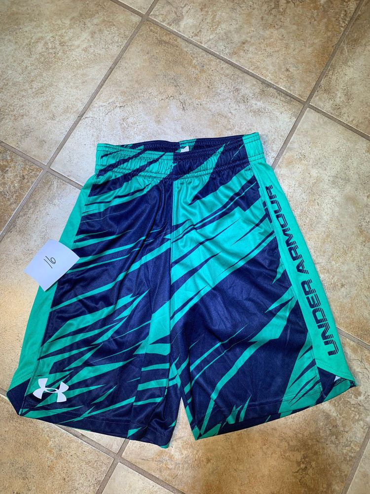 9d9f79594 Boys Under Armour Shorts Youth Extra Small - Under Armour Black And Blue # Underarmour
