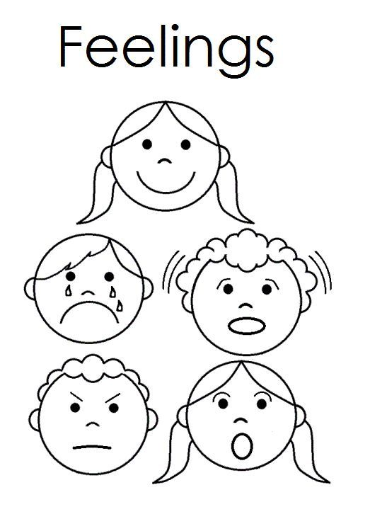 A Childs Place Feelings Emergent reader Feelings – Feelings Worksheets