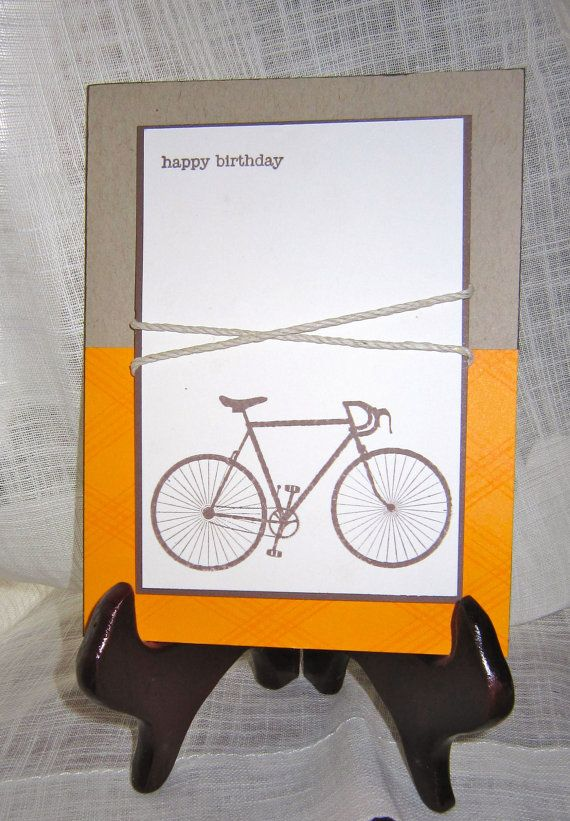 09bb27ca0b5ea bicycle handmade birthday card by lindsaynspencer on Etsy, $3.25 | A ...