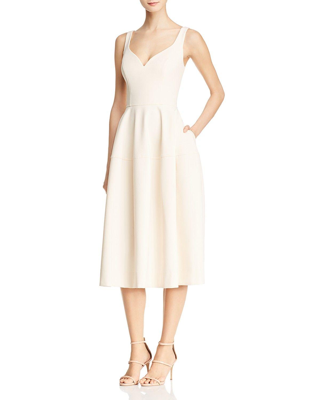 Jill Jill Stuart Sweetheart Midi Dress