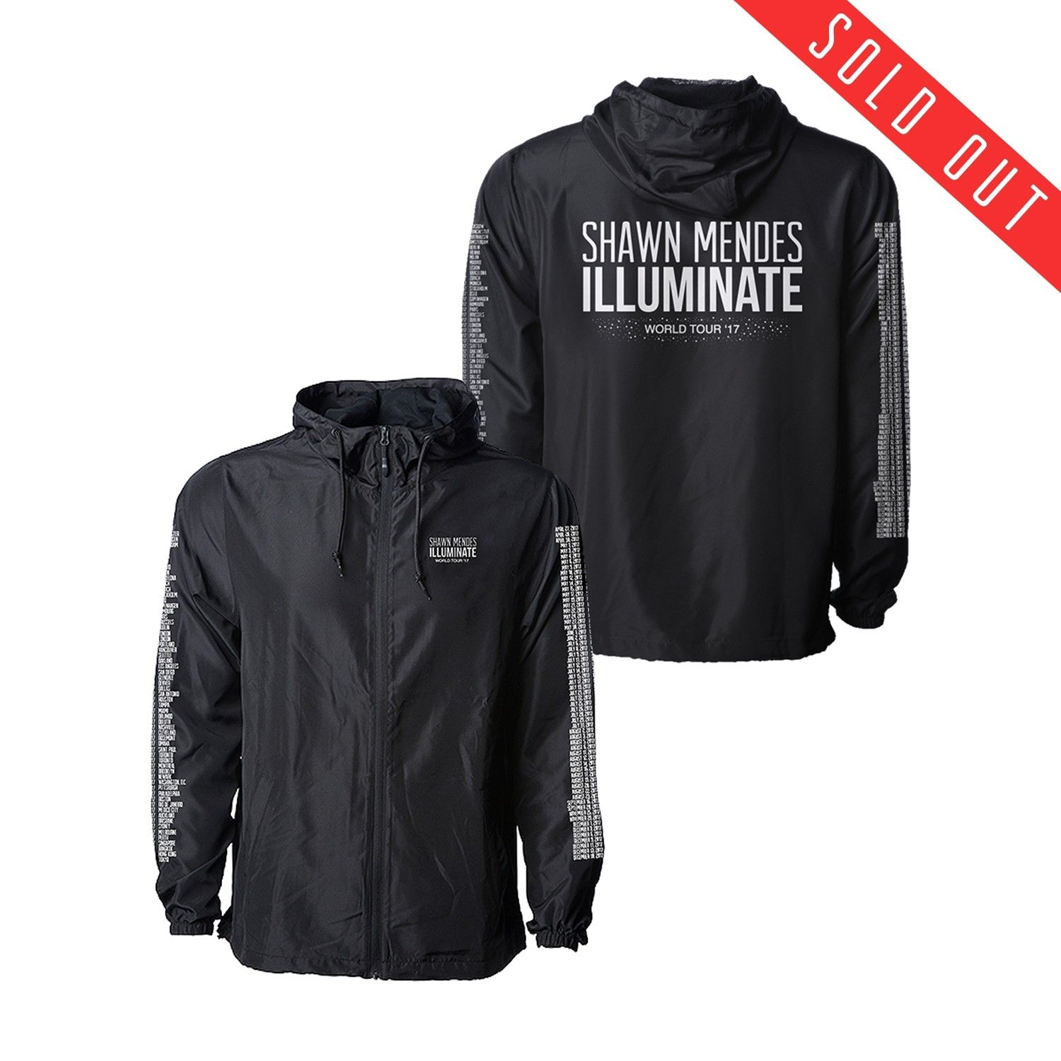 b98de8f76 Limited Illuminate World Tour Jacket that a fan customized is already sold  out!!!