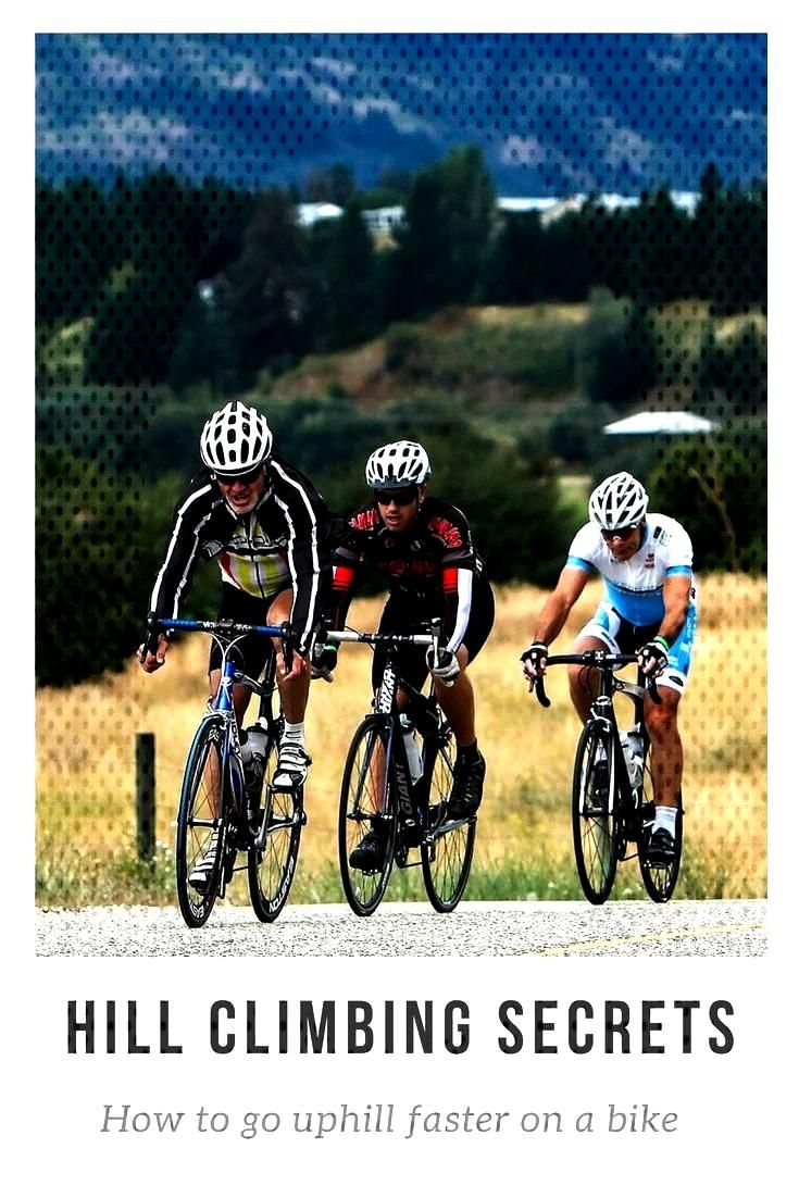 Want to go faster up hills? The secret might be about your pedaling speed / cadence. Learn more.