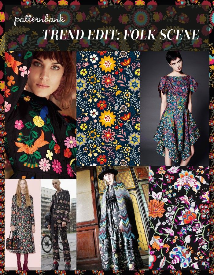 Trend Edit: Folk Scene | Patternbank