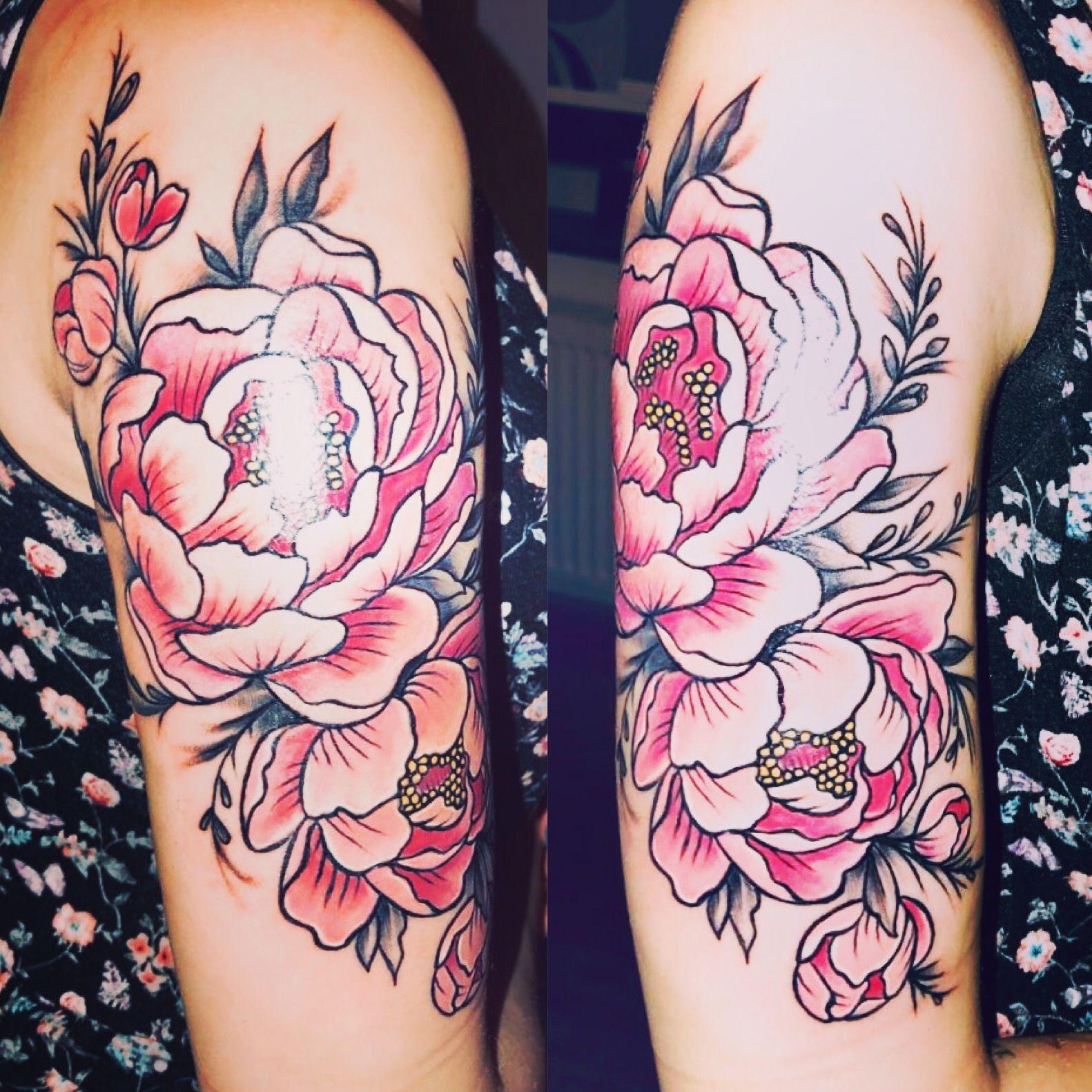 Blumen tattoo Vegan tattoo, Tattoos, Body art