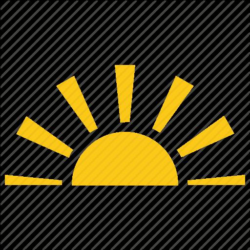 Half Sun Solar Sun Sun Sunrise Sunset Icon Download On Iconfinder Sunrise Icon Sunset