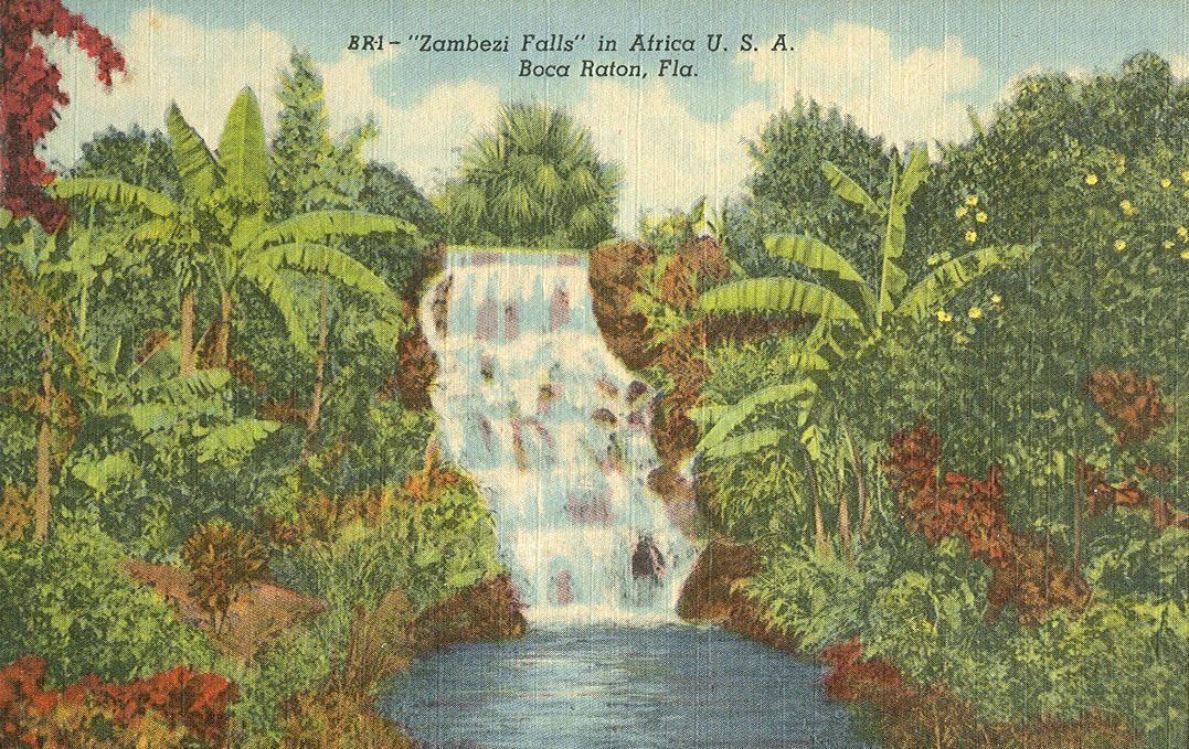 Boca raton vintage postcards travel travel postcard