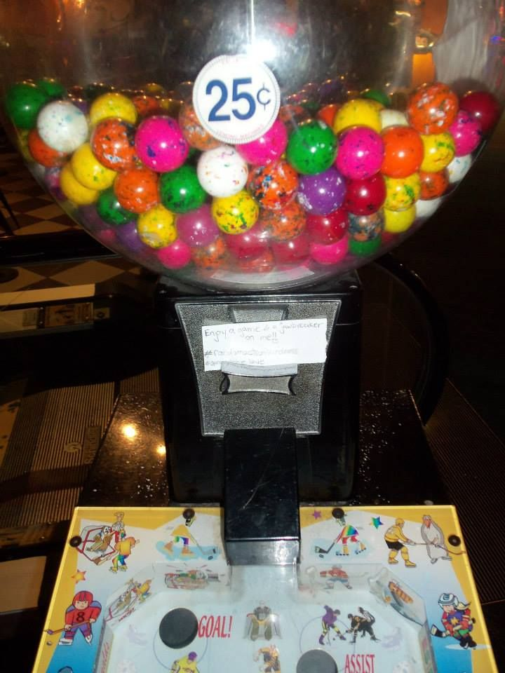 """""""Enjoy a game and a jawbreaker on me!! =)"""" #randomactsofkindness #spreadthelove"""