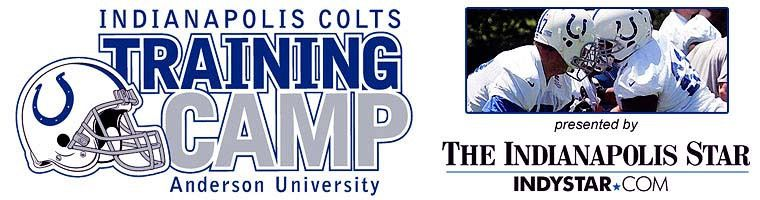 Indy colts training camp anderson university