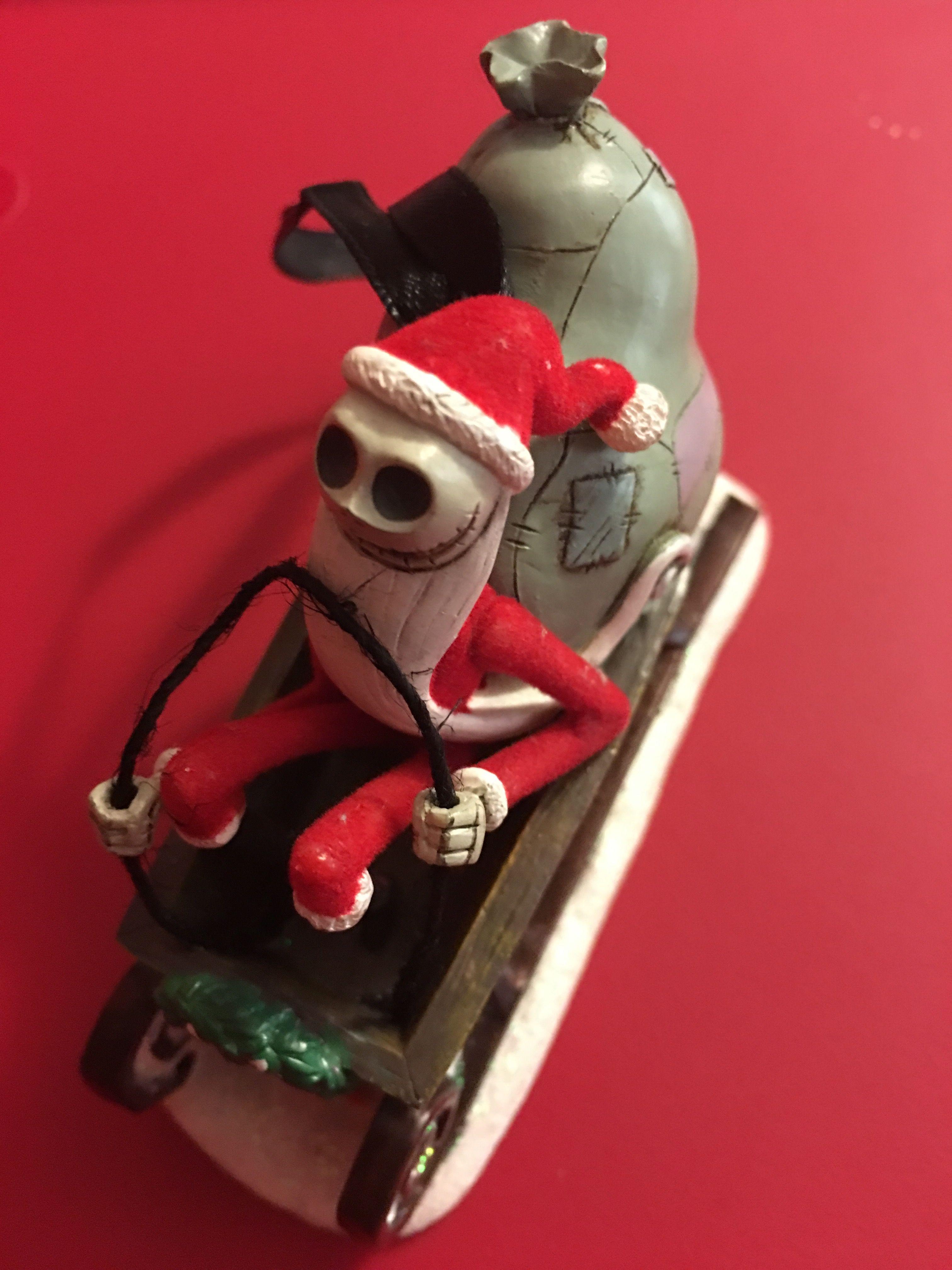 Jack Skellington in Sleigh (3) | Nightmare Before Christmas ...
