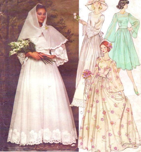 Boho Blush Pink Wedding Dresses 2017 Pretty 3d Flower Lace: 1970s Nina Ricci Womens Boho Bridal Dress, Belt, Slip And