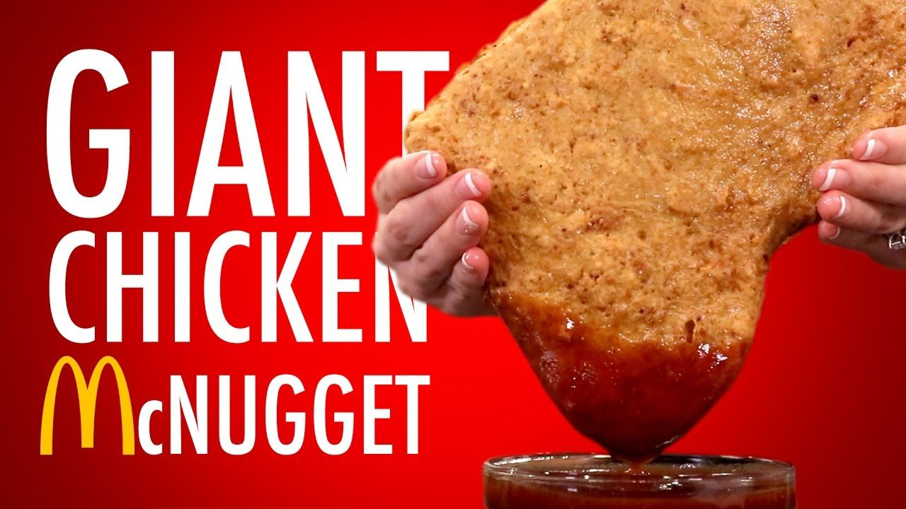 Giant chicken mcnugget nutrition pinterest extreme food and food i guess at this point were just making our way around the giant block with our staple junk food recipes forumfinder Gallery