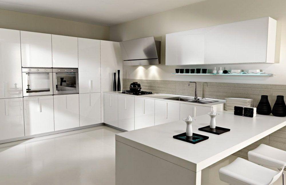 Cómo decorar cocinas blancas | Diseño Exteriores e Interiores ...
