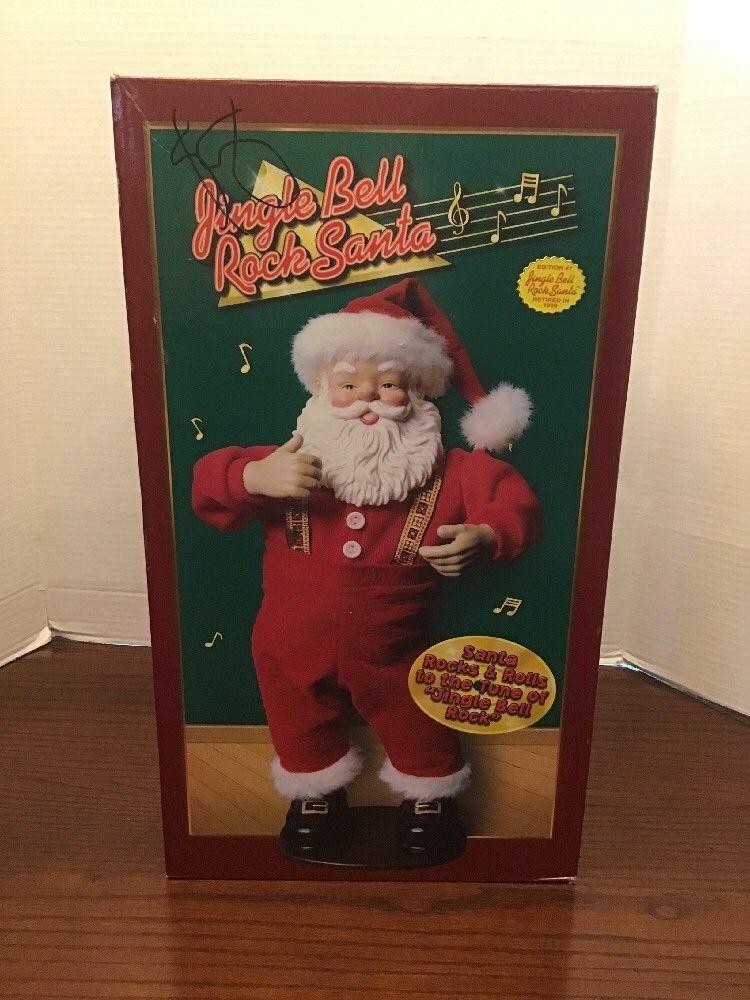 Jingle Bell Rock Santa Edition 1 Retired In 1999 Ln in 2018
