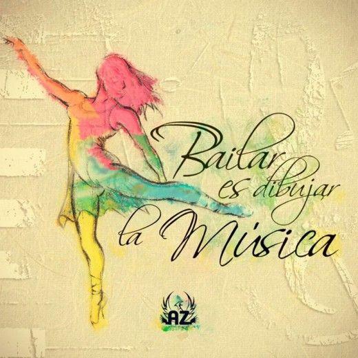 Bailar Es Dibujar La Musica Frases De Baile Frases De Danza Frases De Bailarinas