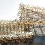 China Pavilion  Architect: Tsinghua University & Studio Link-Arc