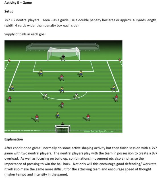 Scott Allison Developing Triangles Combinations And Attacking Style Pt6 With Images Soccer Drills
