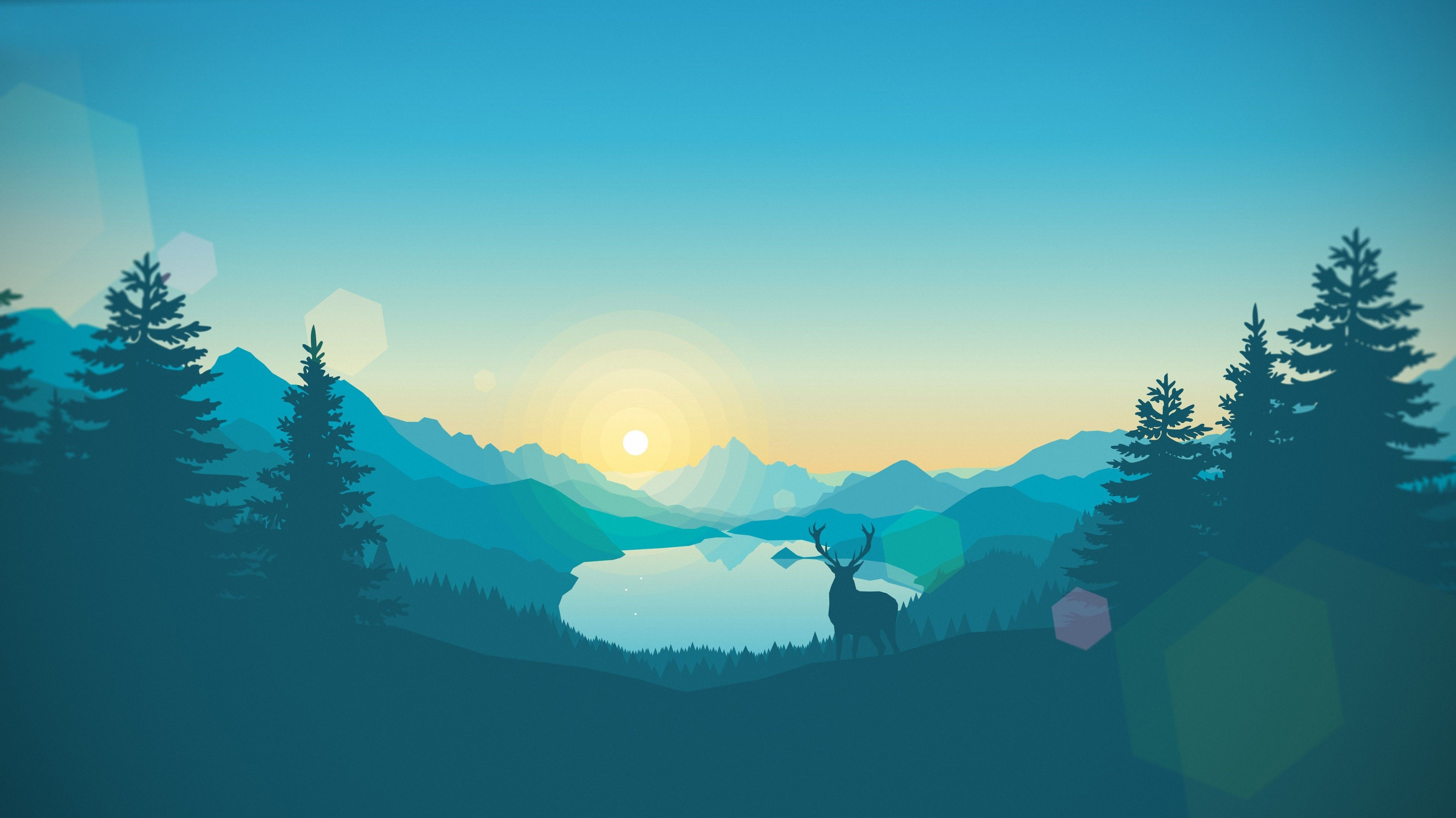 Firewatch Wallpaper Hd Download Landscape Wallpaper Wallpaper Pictures Nature Wallpaper