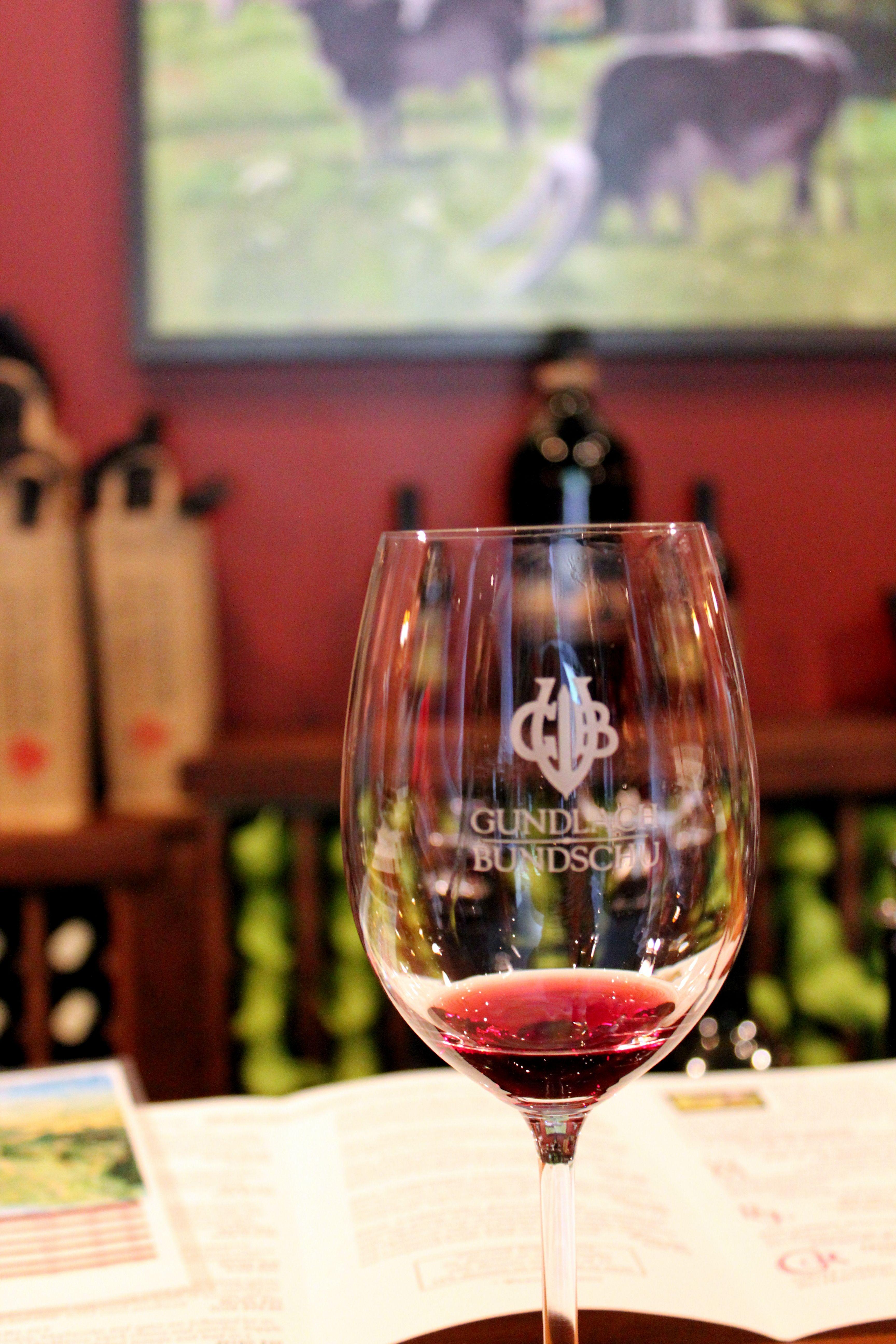 Gundlach Bundschu In Sonoma Ca Winery Glass Glassware