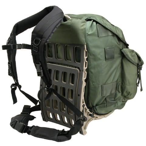 Alice Pack On Azora Pack Mule Frame Backpacking Gear Bushcraft Gear Survival Backpack