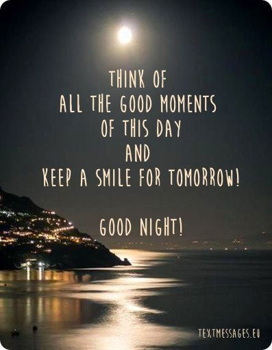 Beautiful Night View Image With Good Night Message Goodnight