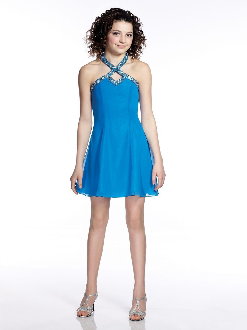 Lexie Girls Cocktail Dress TW21541 | Junior party dresses ...