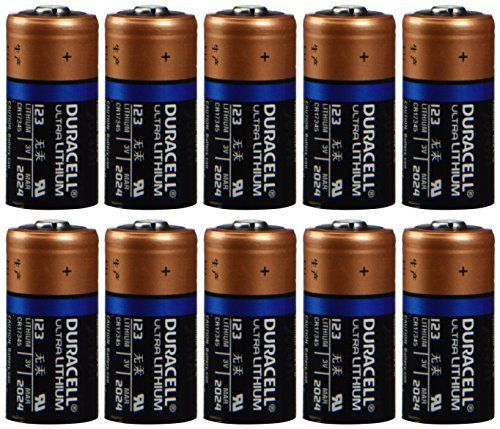 Duracell Dl123 Ultra Lithium Photo 10 Battery Cameras