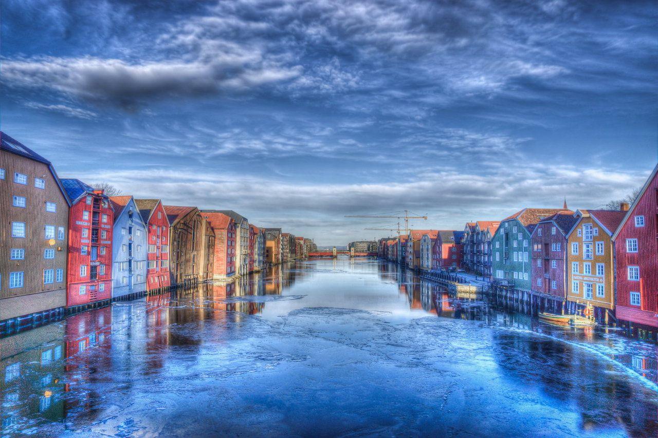 (via 500px / Trondheim by techavez)