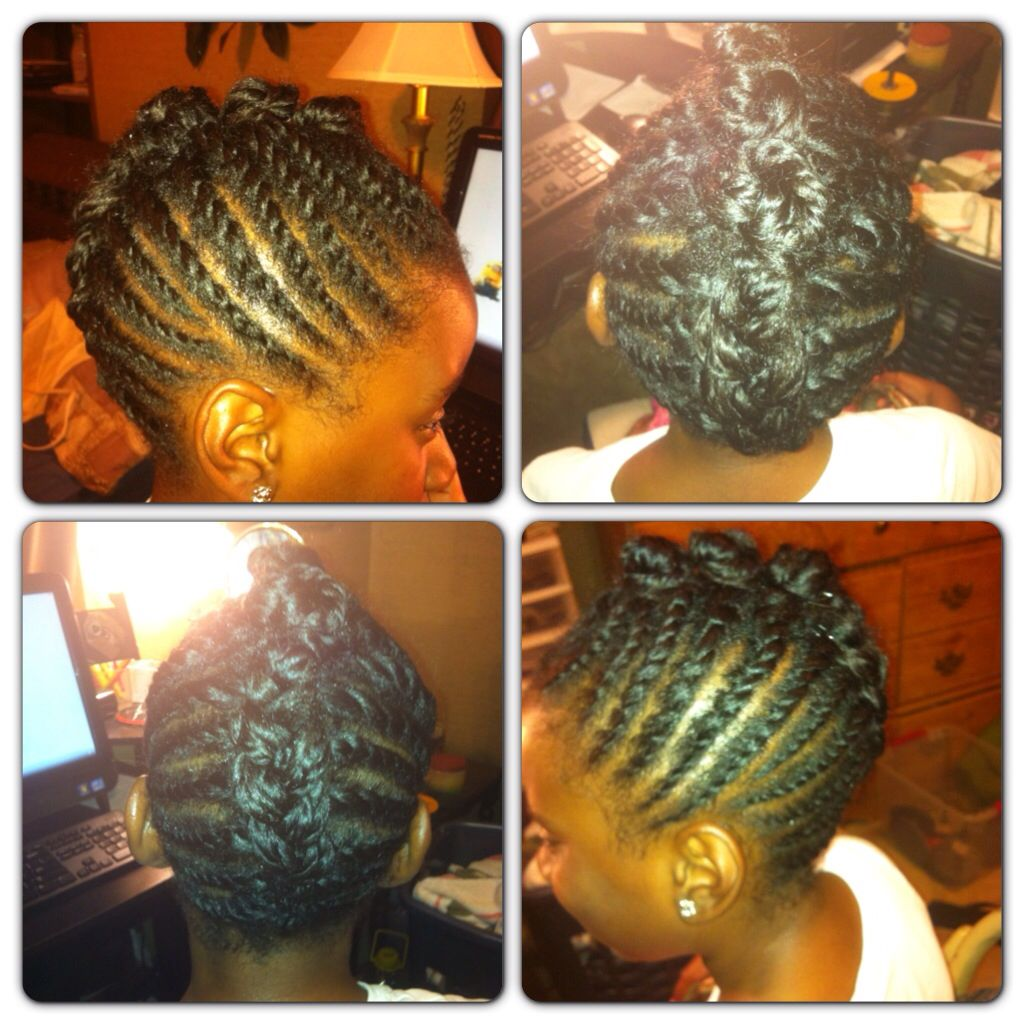 Twisted mohawk natural hair natural hair journey pinterest