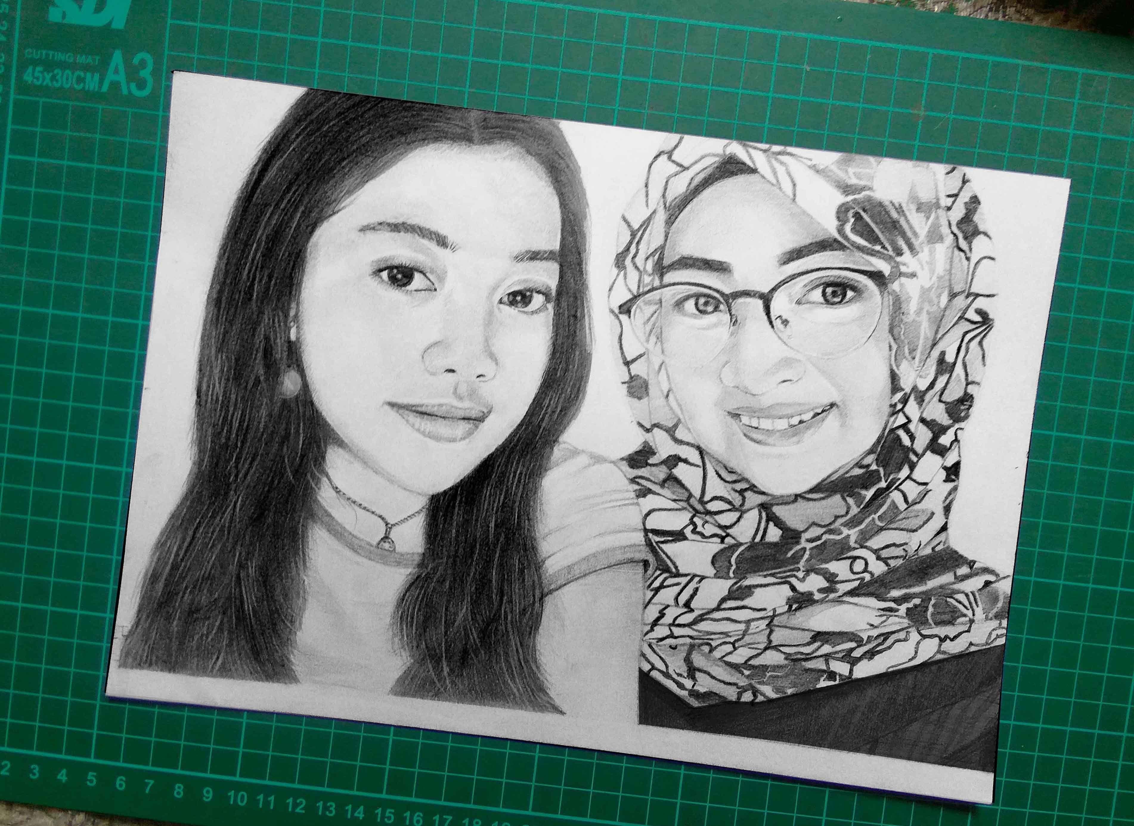 Sketsa A4 Sketsa, Gambar