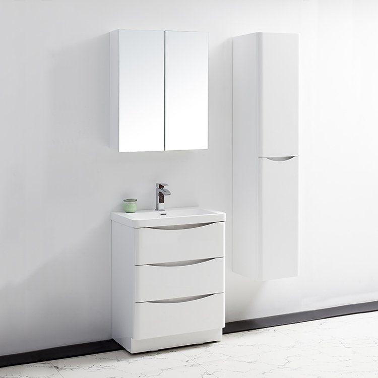 Golden elite mod26w modena 26in bathroom vanity set