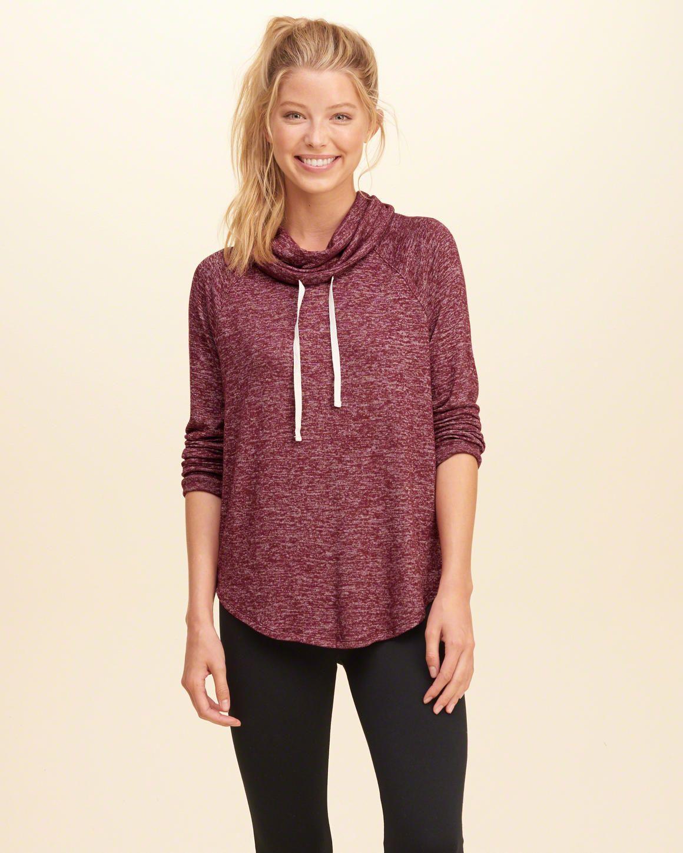 c00c67549718 Girls Cowl Neck Sweatshirt